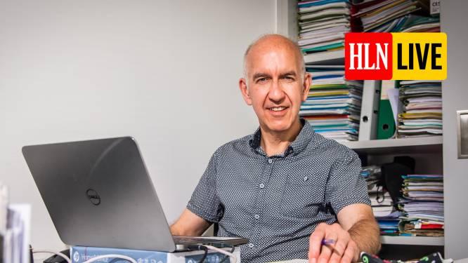 """Biostatisticus Molenberghs: """"Belgische horeca zou als eerste in Europa kunnen heropenen"""""""