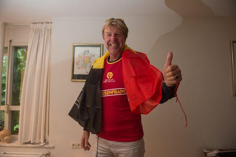 Ook Aad De mos is klaar voor het EK.