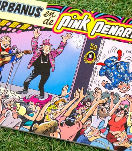Urbanus verantwoordelijk voor speciaal Pinkpop-stripboek