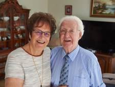 Verliefd in de band in Den Haag en nu 60 jaar getrouwd