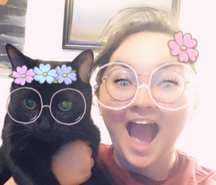 De kattenfilters werden positief ontvangen op Snapchat.