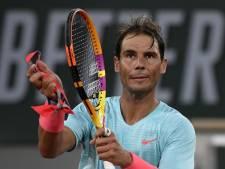 Rafael Nadal au trot vers le second tour