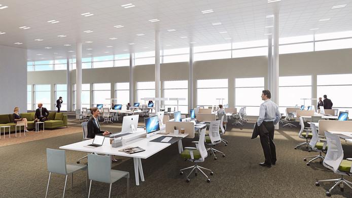 Pleijsier Bouw en Onderhoud renoveert en moderniseert de entree en begane grond van de IJsseltoren in Zwolle. Het werk is in de zomer van 2017 afgerond.