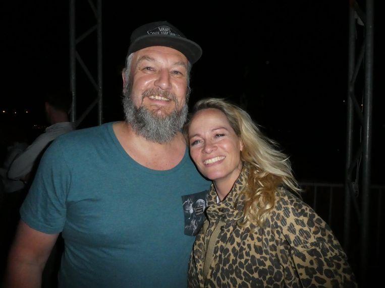 Plugger Atte de Jong en music publisher Suzanne van den Dool Beeld Schuim