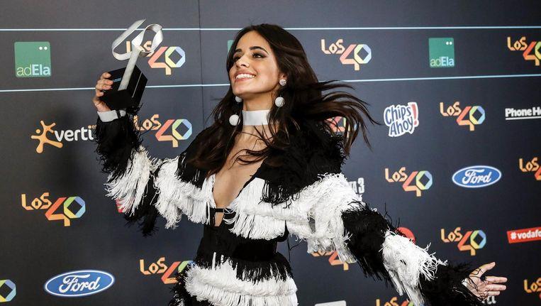 De 20-jarige zangeres trad twee keer eerder op in ons land, met de meidenband Fifth Harmony. Beeld anp