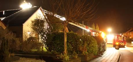Brandweer rukt uit voor schoorsteenbrand in Wierden