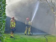 Man ernstig gewond bij brand in schuur in Valkenswaard
