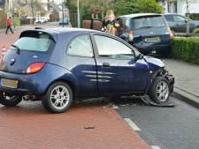 Auto's botsen op Groenstraat in Prinsenbeek