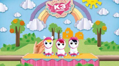 Hanne, Marthe en Klaasje worden pony's in nieuwe K3-reeks