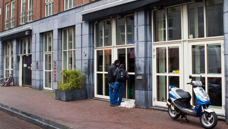 Voormalige homobar Arc opende onder de nieuwe naam Eve als eerste zijn deuren in de vernieuwde Reguliersdwarsstraat. © anp Beeld