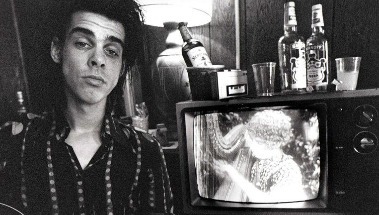 Nick Cave in 1983. Beeld Foto: David Arnoff
