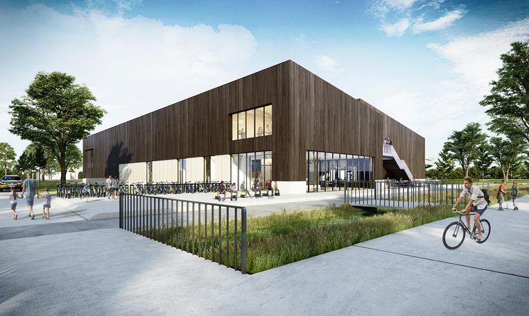 De bouw van het nieuwe zwembad aan de Lostraat start in het voorjaar van 2018.