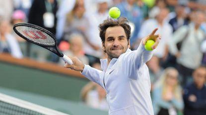 Titelverdediger Roger Federer naar kwartfinales in Indian Wells