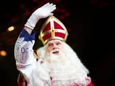 'Sinterklaas schopte een paar bossen chrysanten om zich heen'
