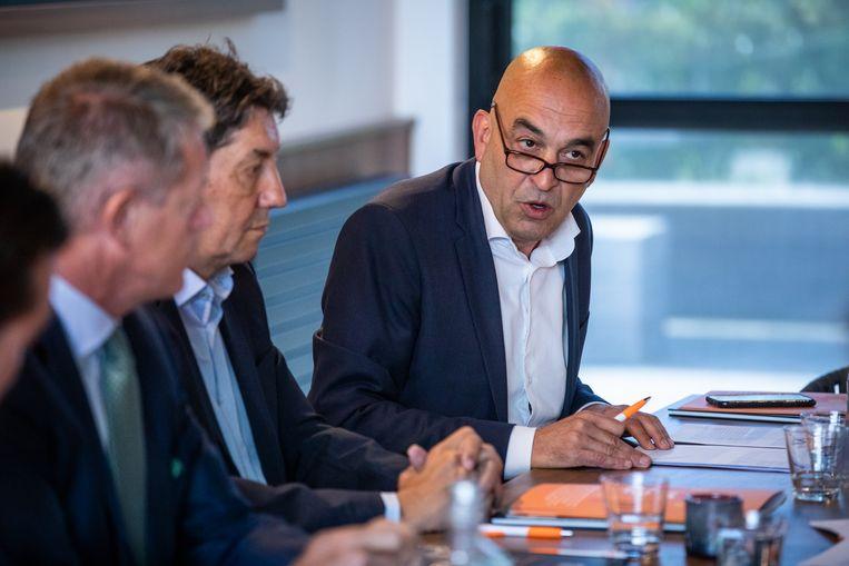 """""""De stijgende innovatiesteun is dé drijvende kracht achter de sterke totaalprestatie van de Limburgse innovatie"""", zegt Kris Claes, directeur belangenbehartiging van Voka Limburg."""