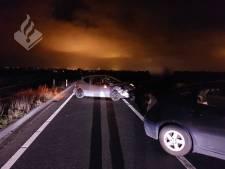 Bestuurders lichtgewond na botsing op N207 bij Rijnsaterwoude