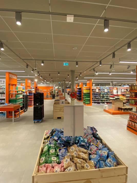 De vernieuwde winkel van AH XL aan de St. Jacobslaan in Nijmegen.