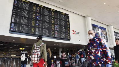 """Nog altijd landen op Zaventem vliegtuigen uit Madrid, waar één coronadode per kwartier valt: geen screening, wel advies """"thuis te blijven"""""""