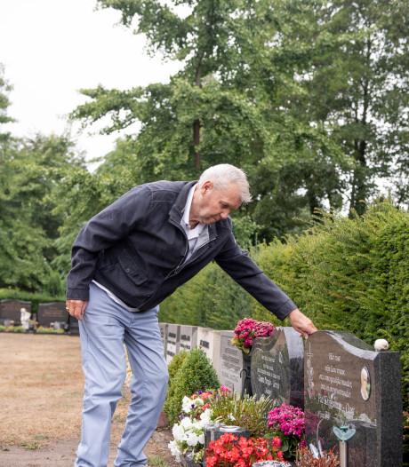 Iedere dag even praten met Pia op begraafplaats 't Groenedael in Almelo