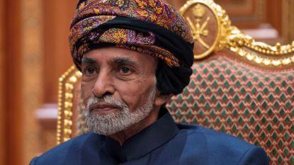 Onlangs in Leuven behandelde sultan van Oman (79) overleden, neef volgt hem op