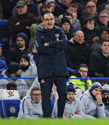 Sarri maakt zich zorgen over resultaten, niet over de fans