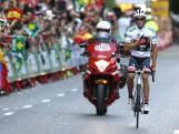 Het 'ererondje' van Alberto Contador in Madrid