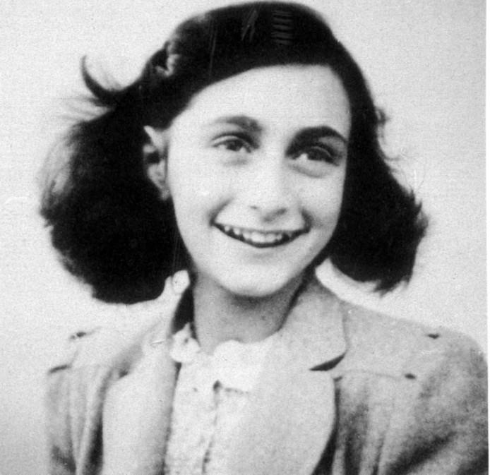 Anne Frank (1929-1945).