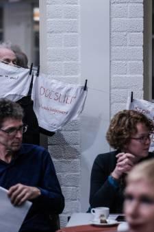 'Stop intimidatie': Vuile was hangt buiten bij sociale dienst Laborijn