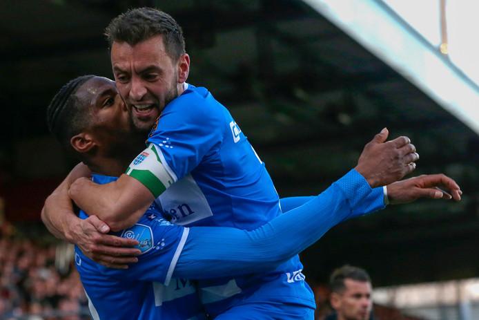 Bram van Polen nadert een rentree in de eredivisie nu de aanvoerder van PEC Zwolle (kort) zal opdraven in het oefenduel met FC Köln donderdagmiddag.