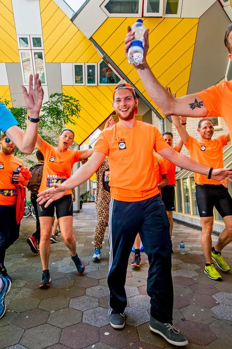 Runners gék op kubussen