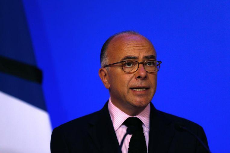 Cazeneuve roept Franse burgers op reservist te worden. Beeld afp