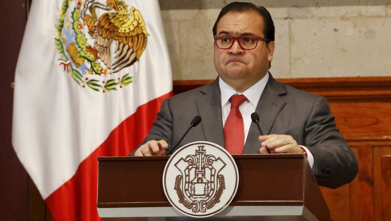 Gouverneur Javier Duarte. Beeld reuters