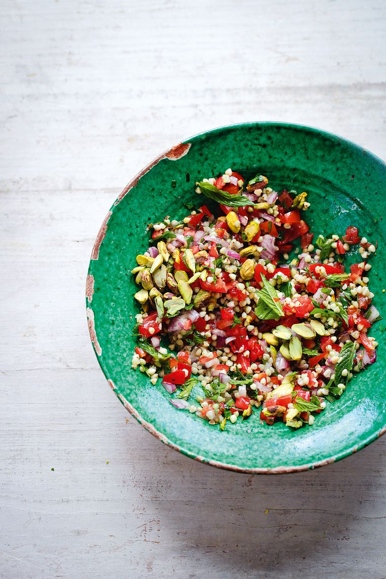 Tabouleh met pistaches, uit De Detox Kitchen Bible