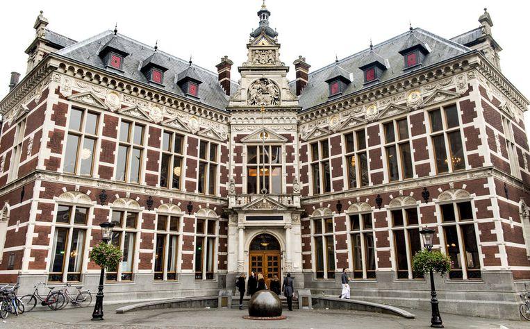 Het academiegebouw van de Universiteit van Utrecht. Beeld ANP
