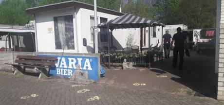 Beelden van kleindochter schietpartij woonwagen Eindhoven: reeks schoten te horen