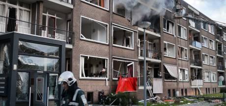Bewoners flat voorlopig niet terug na gasexplosie