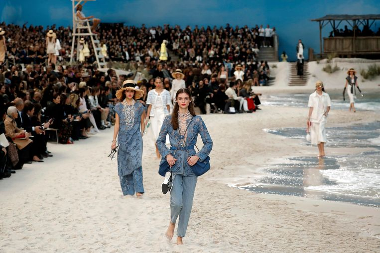 Show van Chanel tijdens Paris Fashion Week.