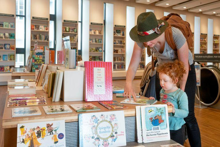 De Openbare bibliotheek in Arnhem. Beeld Hollandse Hoogte / Bert Spiertz
