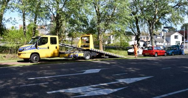Flinke schade na kop-staartbotsing in Vlissingen.