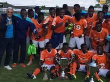 Piet de Visser is trots op 'zijn' Ghanese spelers