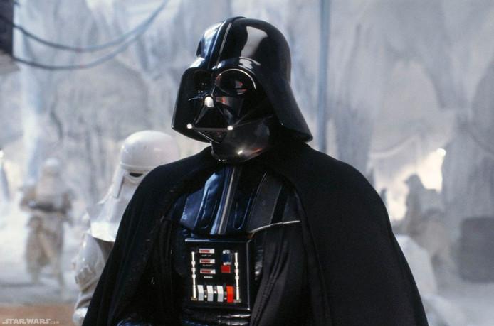 Het Vader-pak dat wordt aangeboden, werd gemaakt voor The Empire Strikes Back.