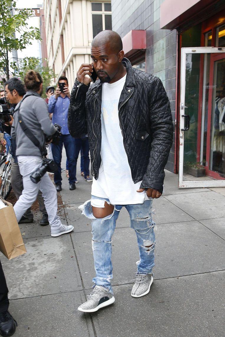 Kanye West in New York begin deze maand.