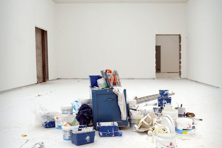 Renovatie in het Stedelijk Museum Amsterdam (Joost van den Broek/Hollandse Hoogte) Beeld Joost van den Broek