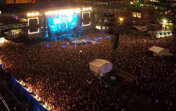 Concert Volbeat op Strijp-S.