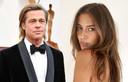 Nicole Poturalski is de nieuwe vriendin van Brad Pitt.