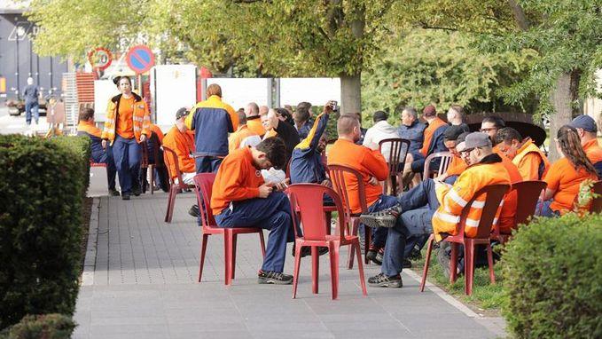 Werkonderbreking bij Volvo Cars Gent houdt aan, directie vraagt verzoeningsprocedure