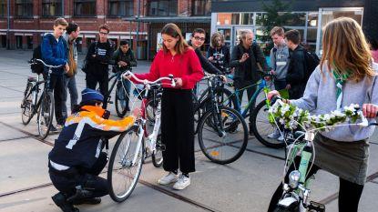 Inspecteurs controleren 700 fietsen in Sint-Jozefinstituut