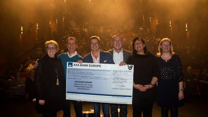 Concerten Willy Sommers en Christoff brengen 3.000 euro op