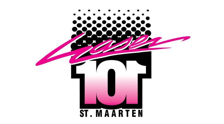 Het logo van radiostation Laser 101 Beeld Laser101