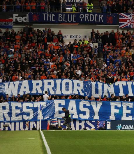 Rangers FC en Feyenoord eren Ricksen voorafgaand aan Europa League-duel